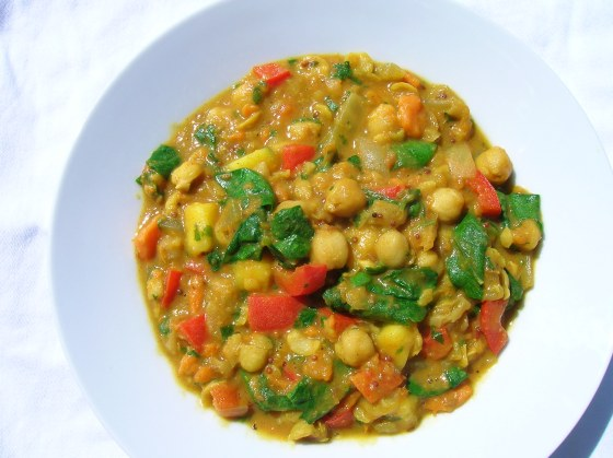Chickpea Curry – Chole Masala | Vegetarian Perspective