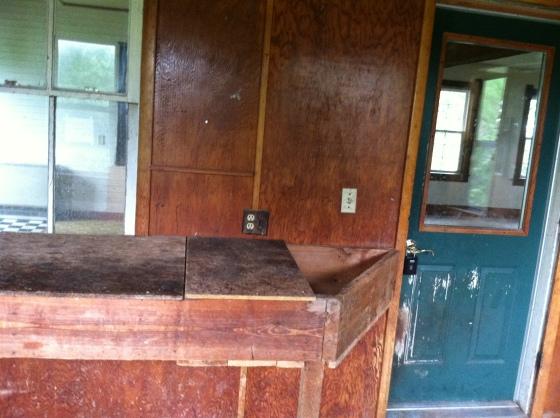 Workbench and Kitchen Window