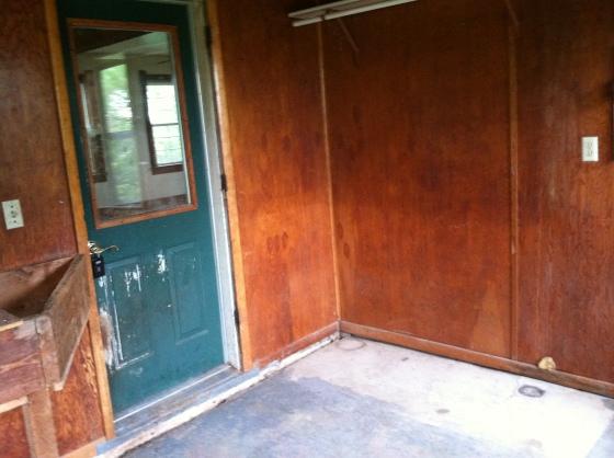 Porch Door to Kitchen