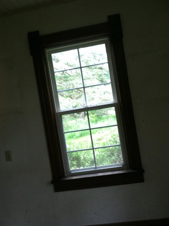 New Windows and Victorian Trim