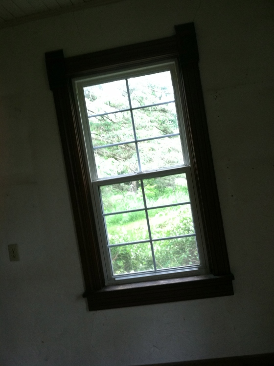 New Windows and Victorian Trim