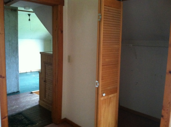 Master Closet and View to Loft