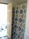 shower curtain, new bath door