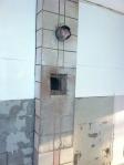 New chimney opening