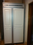 Craigslist panel fridge