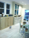 Priming kitchen floor