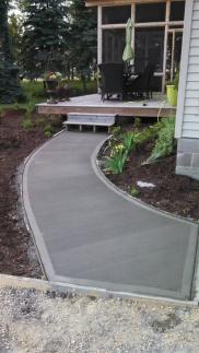 Sidewalk to Deck
