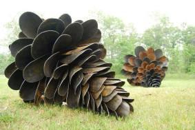 shovel-pinecones